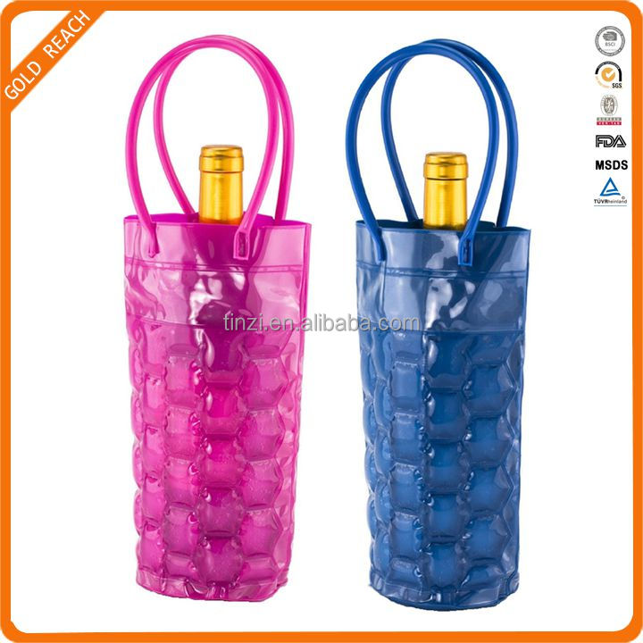 Portable Ice Wine Cooler Freezer Bag