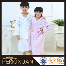 wholesale 100% cotton cheap bathrobes for kids