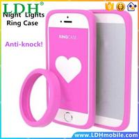 Anti-Knock Luminous bracelet Silicon case for JIAYU G3 G3c G3T G3S case Night Lights hand ring bumper cover for JIAYU G3s