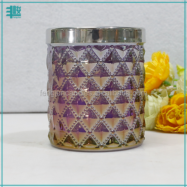 FengJun blended with essencial oil heavenly single wick scented candle
