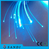 plastic optical fiber,Solid Core optic side & end light Fiber series,PVC,100m long each roll,0.75mm-20mm diameter optional