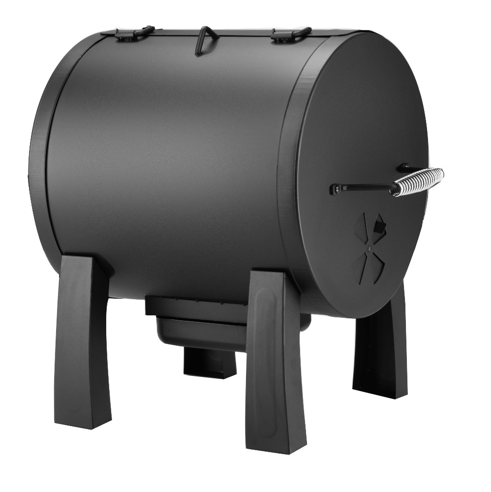 2016 new design bbq smoker box with steel powder coated lid