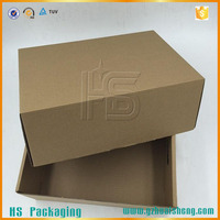 Brown paper shipping box carton box corrugated box for packaging fruit