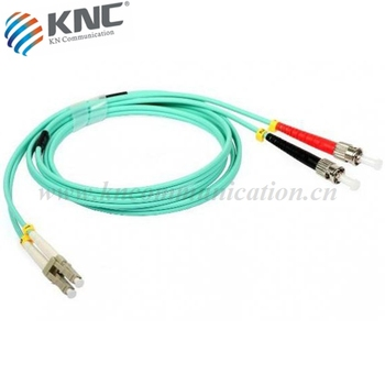 Factory supply LC-FC duplex fiber optic patch cable