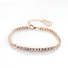 Ally Express Wholesale gold chunky chain bracelet smart crystal bracelet