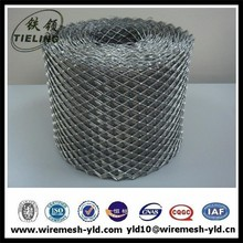 Galvanized Diamond hole expanded metal mesh/expanded metal/expanded sheet