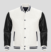 Custom made mens varsity jackets letterman baseball jacket