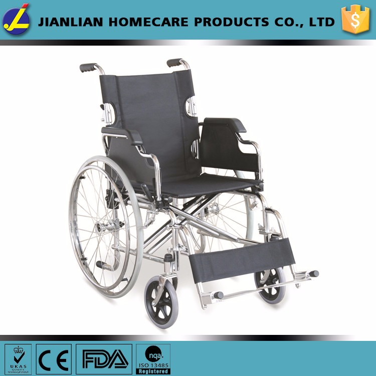 Multifunctional handicapped wheelchair folding in small size JL908AQ