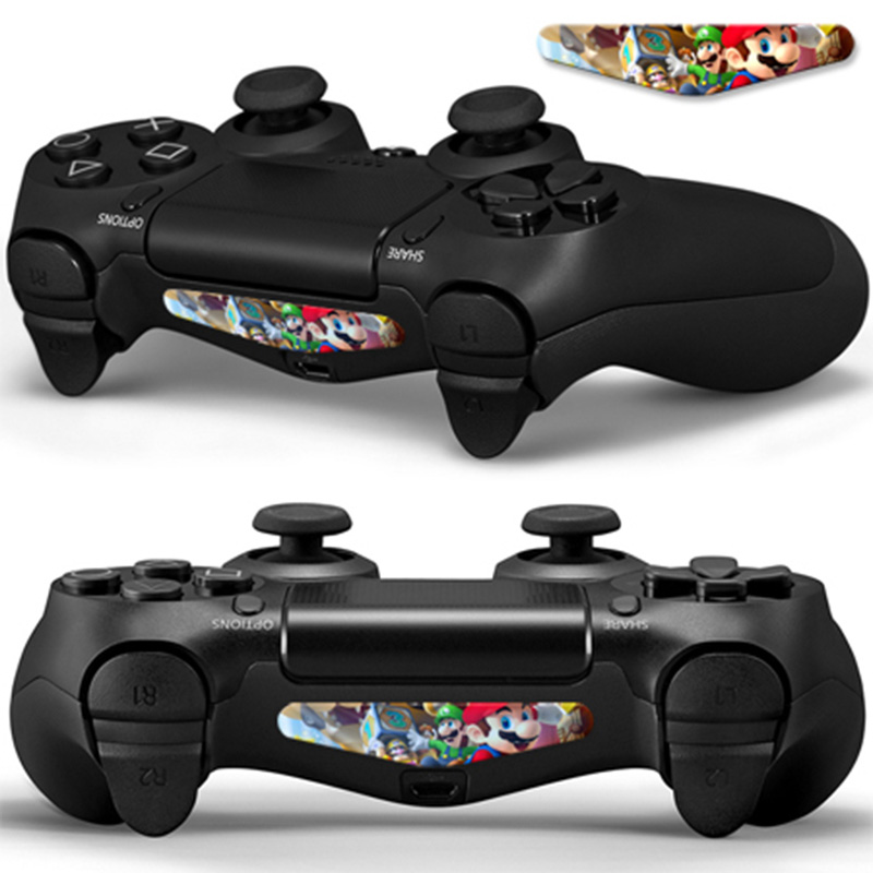 Deocrative Promotional Colorful Cheap Custom skin sticker for PS4 LED Light Bar