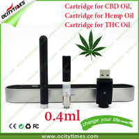 Hot new products for 2015 510 wickless atomizer CBD touch pen Kit with cool design cbd oil pen case