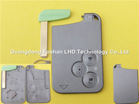 3 Button Blank Smart Card Key Cover for Renault Laguna Remote Key Card
