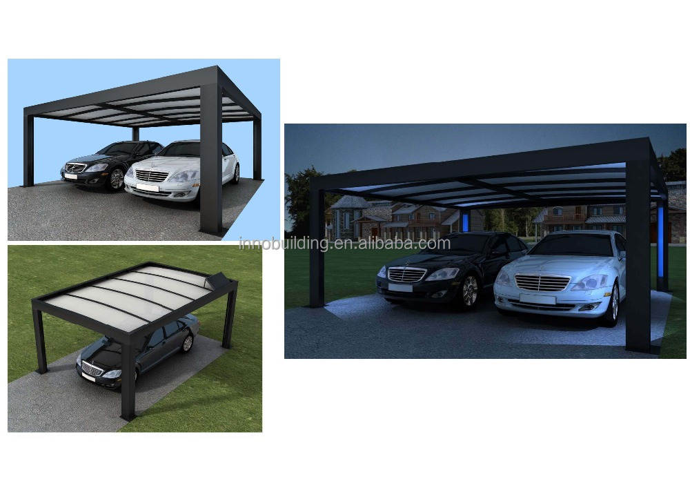 Steel carport canopy design