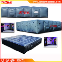 indoor Laser Tag game/ Inflatable Laser Tag Arena for sale/ laser tag equipment