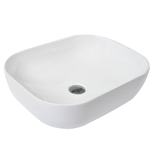 Fashionable Designs Overflow Hole Rectangle Sinks Bathroom Unique