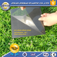self adhesive pvc crust foam board/sheet for photo album
