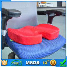 Memory foam blood circulation anti bedsore auto seat cushion