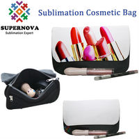 Personalize Blank Sublimation Canvas Cosmetic Bag Case