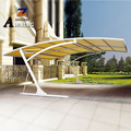 Powder Coated Frame Finishing and Metal Frame Material CARPORT for 2car size