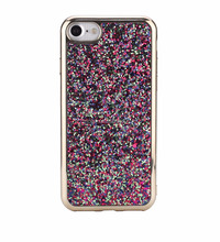 Bling and shiny super slim electroplating cheap tpu phone case for iPhone 7