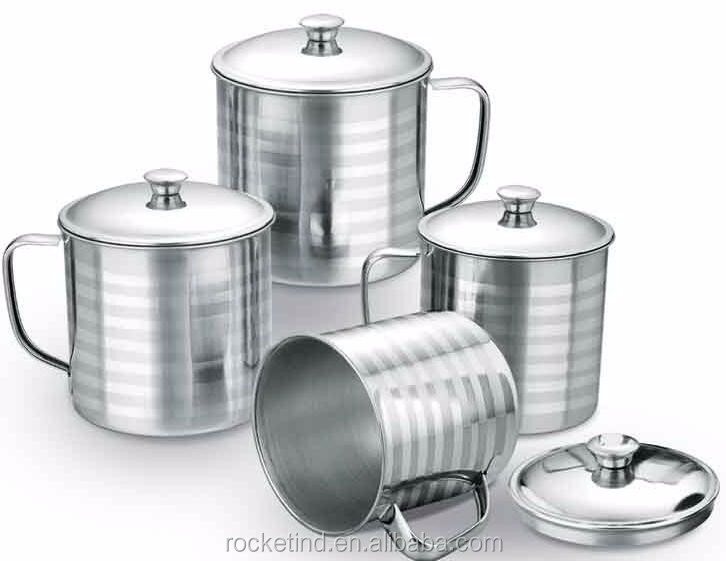 Cheap High Quality China Stainless Steel Unfixed Handle Cup