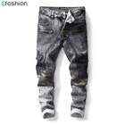 Men's Clothing Jeans Male Long Trousers Straight Cotton Men's Denim oem Jeans For Man