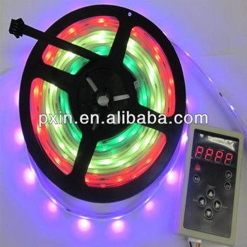 Programmable full color ic 6803 5050 dream magic rgb led strip