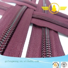 factory price high quality close end zipper nylon zipper for garment