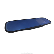 "120 wide angle degree rearview mirror car camera 2.7"" car dvr"