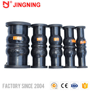 Compeititive price thread rubber joints expansion joint braided corrugated flexible hose with