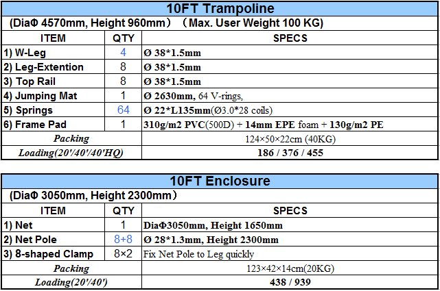 10ft Outdoor Trampoline Buy 10ft Trampoline Outdoor