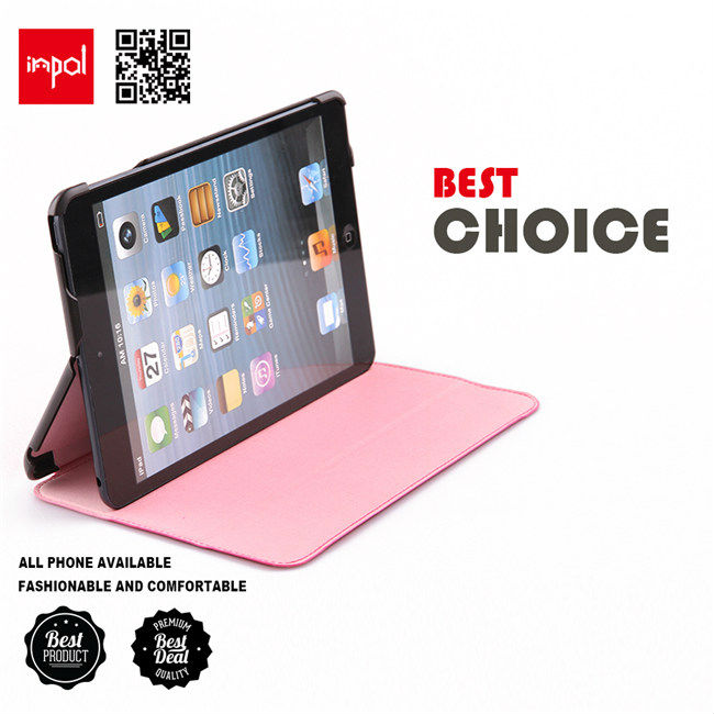 Original stand case for ipad mini accessories in zero bulk from shenzhen OEM expert