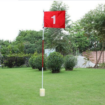 Backyard Golf Practice Flagstick with hole cup 3section and 5 section