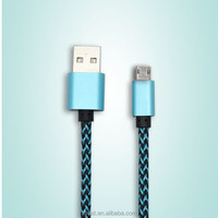 VBEST double colored micro usb data cable multi-function usb charger cable
