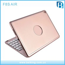 For iPad 5 6 Aluminum Bluetooth Keyboard Case for IPAD Air Wireless Keyboard for iPad Air Air 2