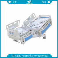 AG-BY008 weighting electric motor clinic bed medical equipments nursing care paralyzed patients hospital beds