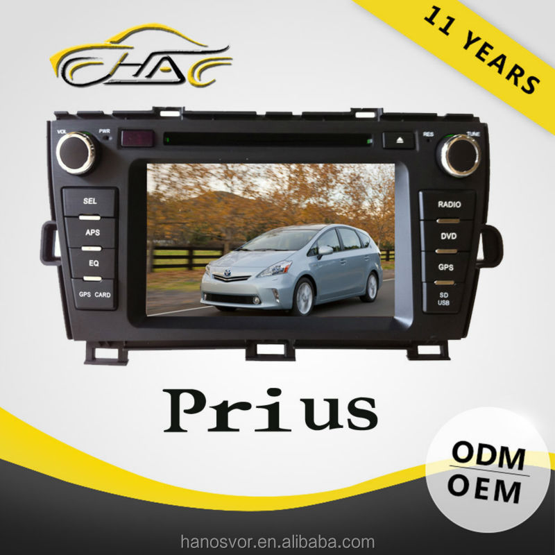 China Factory OEM cheap price for toyota prius dvd player in dash gps system