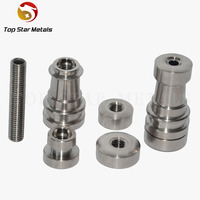 wholesale Universal Domeless Infiniti Titanium Nail 14mm & 18mm Adjustable Male or Female