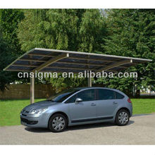 2017 customized large kids outdoor metal roof canopy