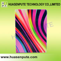 Rainbow Pattern New Smart Stand Leather Case Cover for iPad5