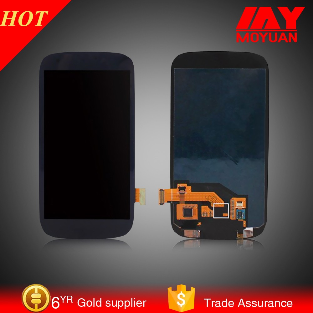 Original AMOLED lcd display For samsung Galaxy s3 i9300 LCD Touch Screen Digitizer Assembly With frame