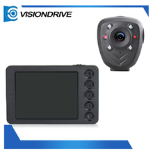 "Guangdong Factory 3.0 "" LCD Display police video body worn camera camcording dvr with IR night vision surveillance lens"