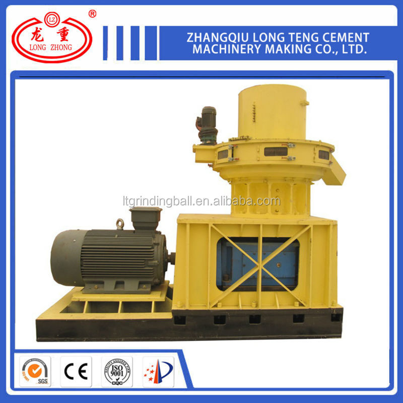 China Manufacture Vertical ring die wood pellet hammer mill
