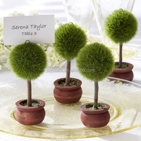 Topiary Photo Holder and Place Card Holder