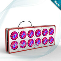 New design 2013 lastest products hot sale apollo 8 120x3W uk beat sale advanced diamond led grow light