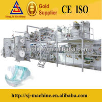 Full servo high speed automatic susu baby diapers plant