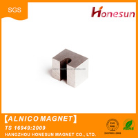 Low price Custom Wholesale AlNiCo block magnet for sale