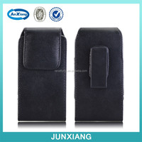 adjustable pu leather mobile phone pouch for iphone 6 4.7inch