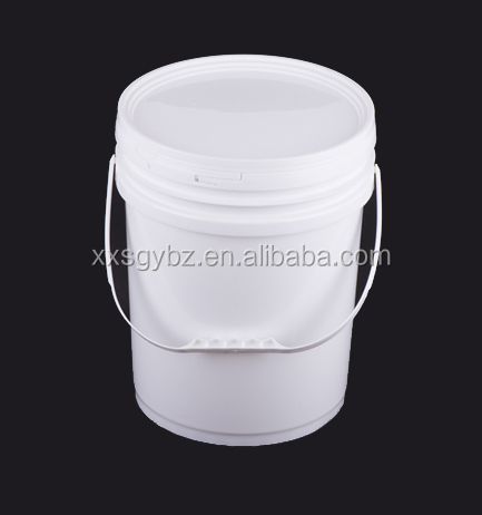 cheap 20L plastic packaging bucket/pail