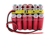 18650 Rechargeable lithium ion battery 12V 9ah for E-power light