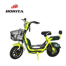 Chinese Lightweight Speed Green Motorcycle with Basket